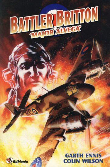 BATTLER BRITTON: MAJOR ALVEGA