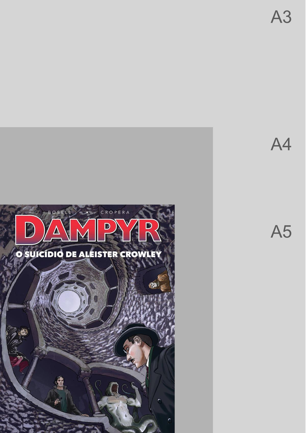 Dampyr – O Suicídio de Aleister Crowley