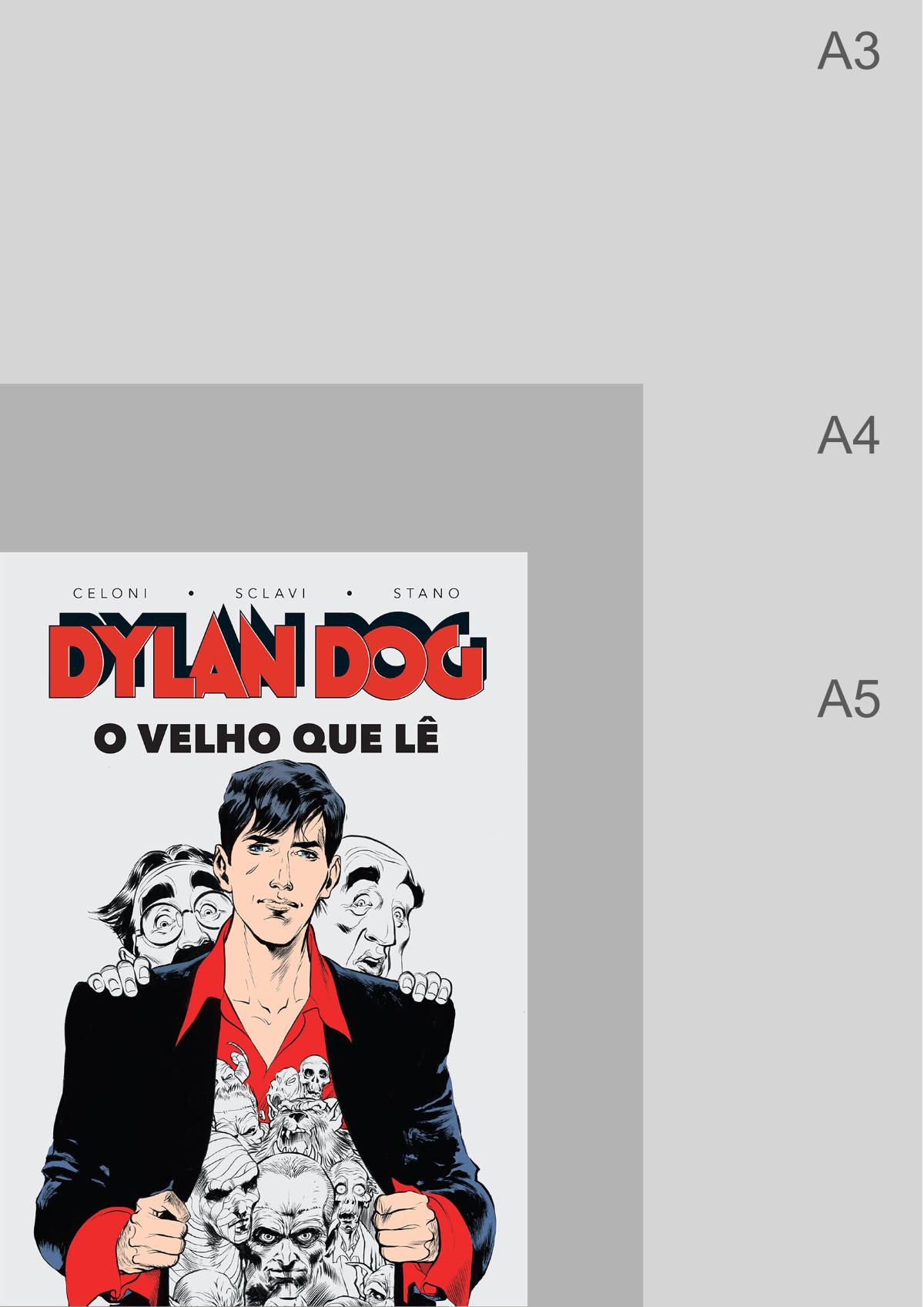 DYLAN DOG – O VELHO QUE LÊ