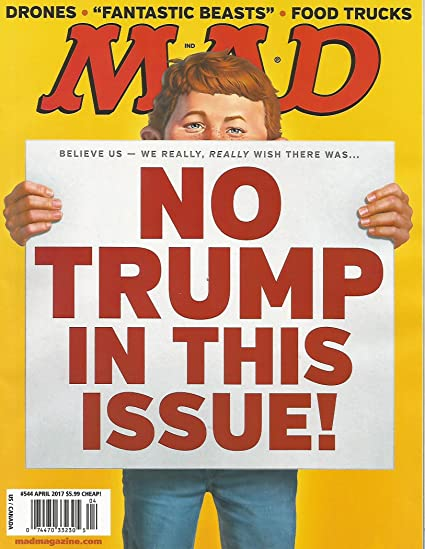 MAD Magazine #544 APR 2017