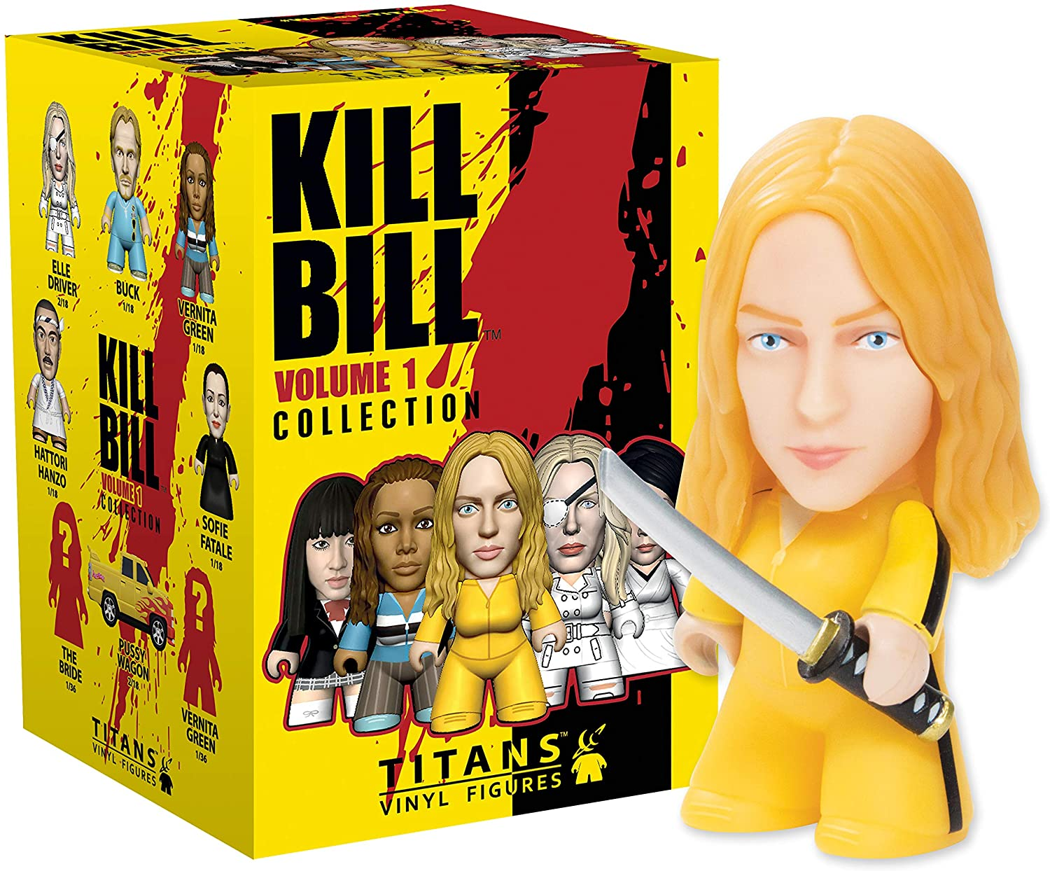 KILL BILL VOL 1 COLLECTION TITANS VINYL FIGURE (BLIND BOX COLLECTIBLE) TITAN