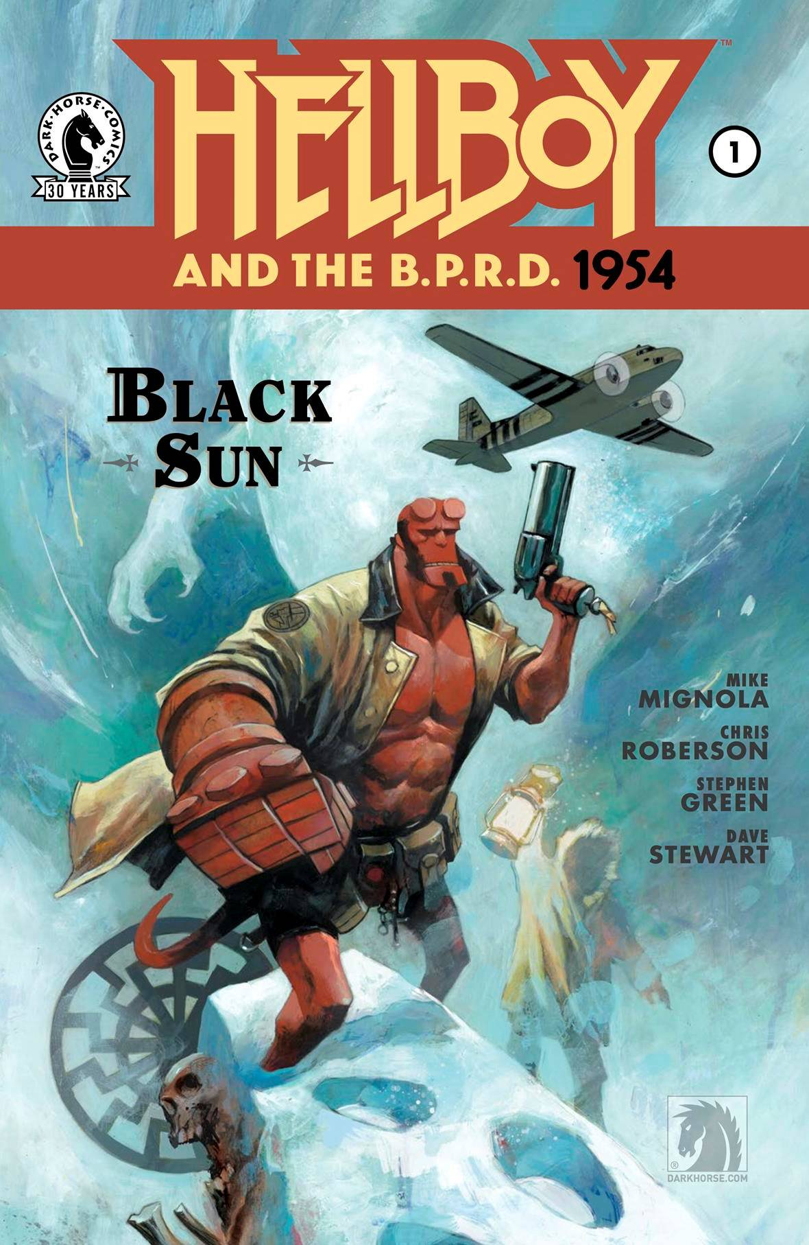HELLBOY & BPRD 1954 BLACK SUN (MS 2)