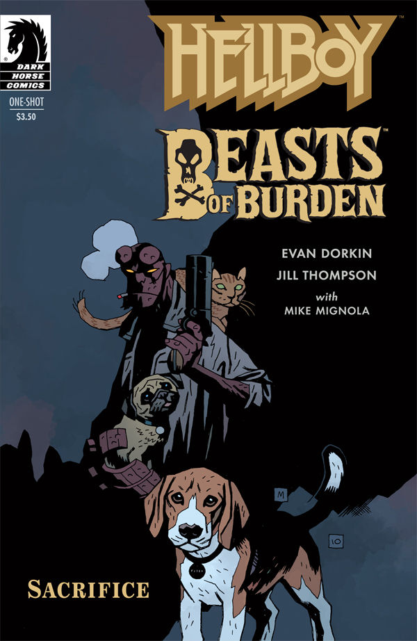 HELLBOY BEASTS OF BURDEN – Sacrifice   One-Shot