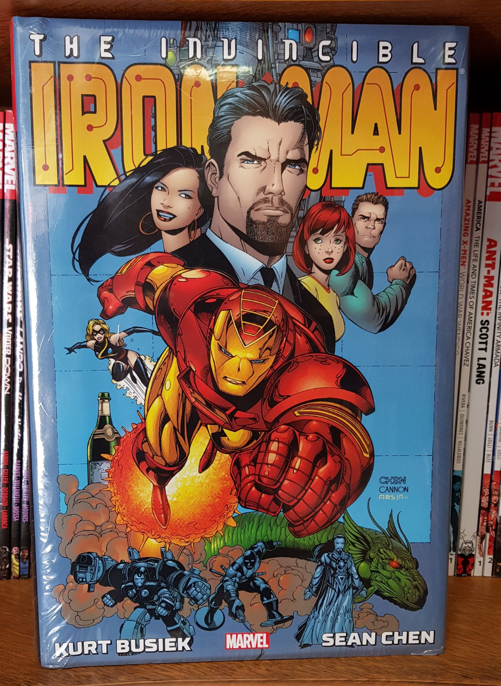 IRON MAN BY KURT BUSIEK AND SEAN CHEN OMNIBUS HC