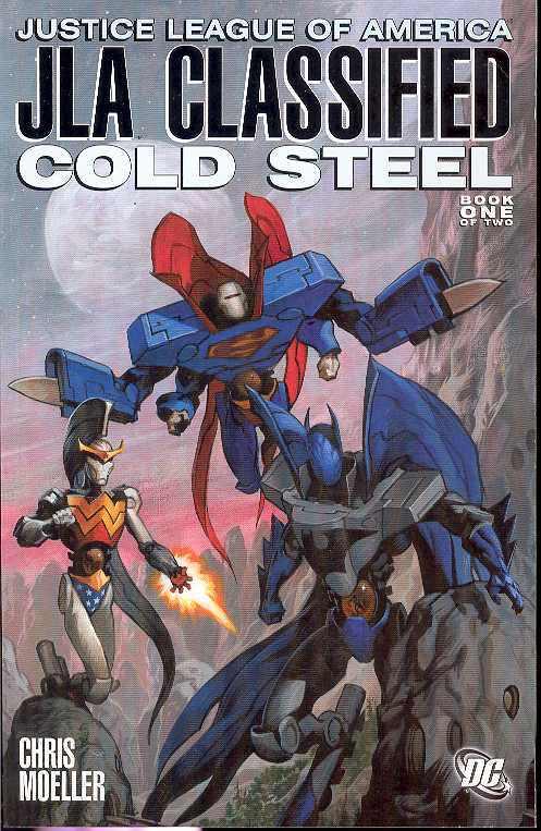 JLA CLASSIFIED COLD STEEL (MS 2)