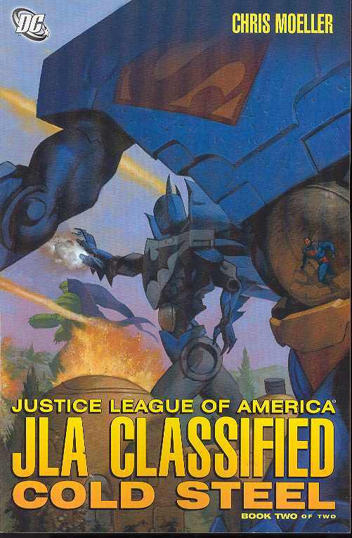 JLA CLASSIFIED COLD STEEL  (MS 2)