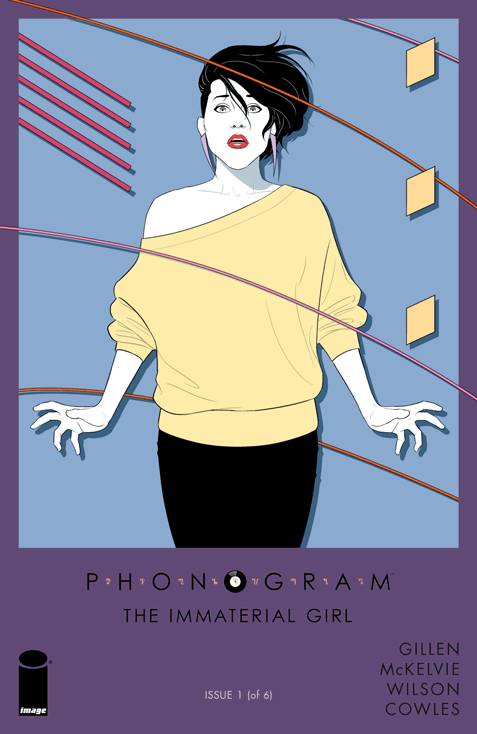 PHONOGRAM THE IMMATERIAL GIRL  (MS 6)