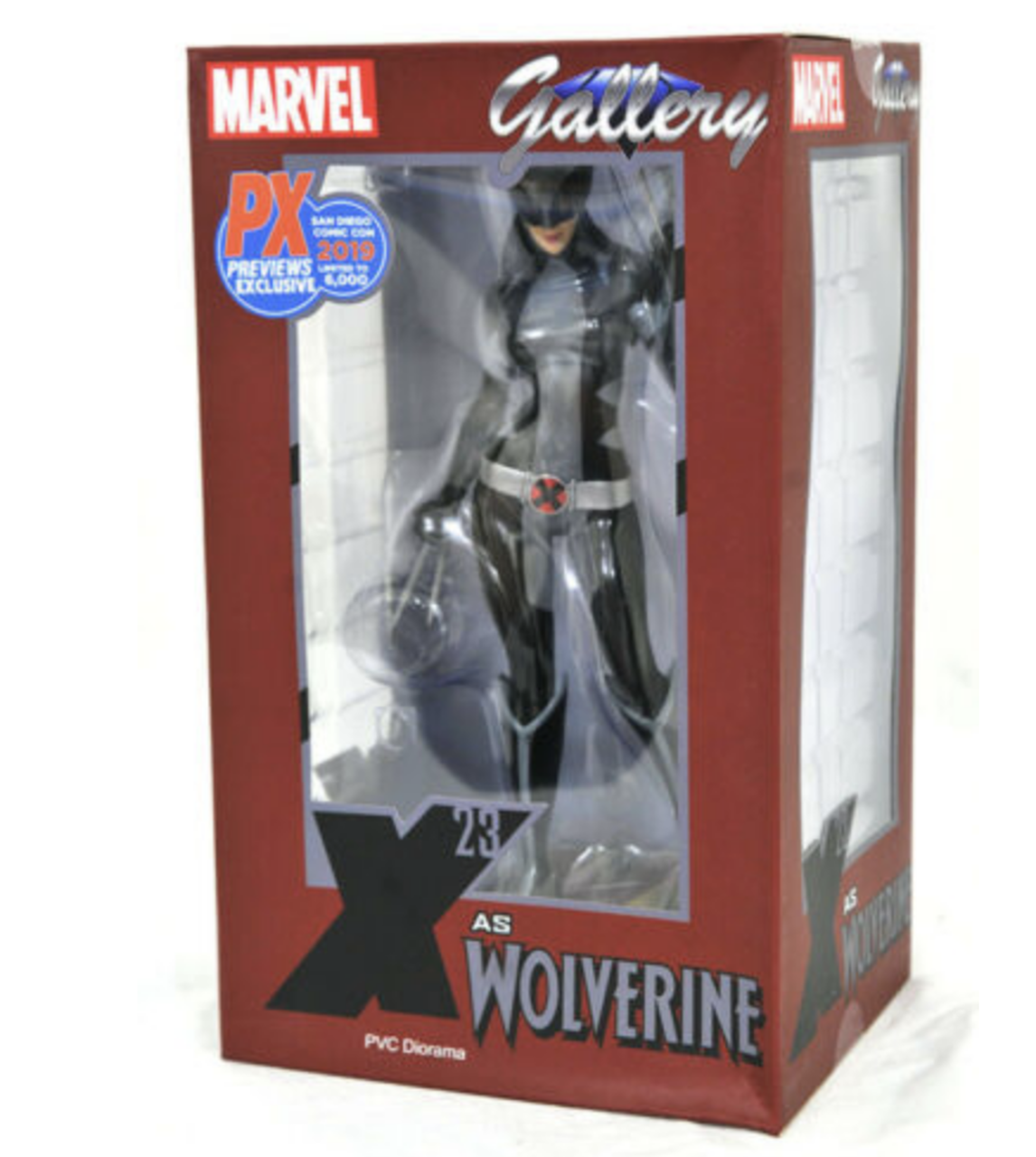 SAN DIEGO COMIC CON 2019 MARVEL GALLERY X-FORCE X-23 PVC STATUE