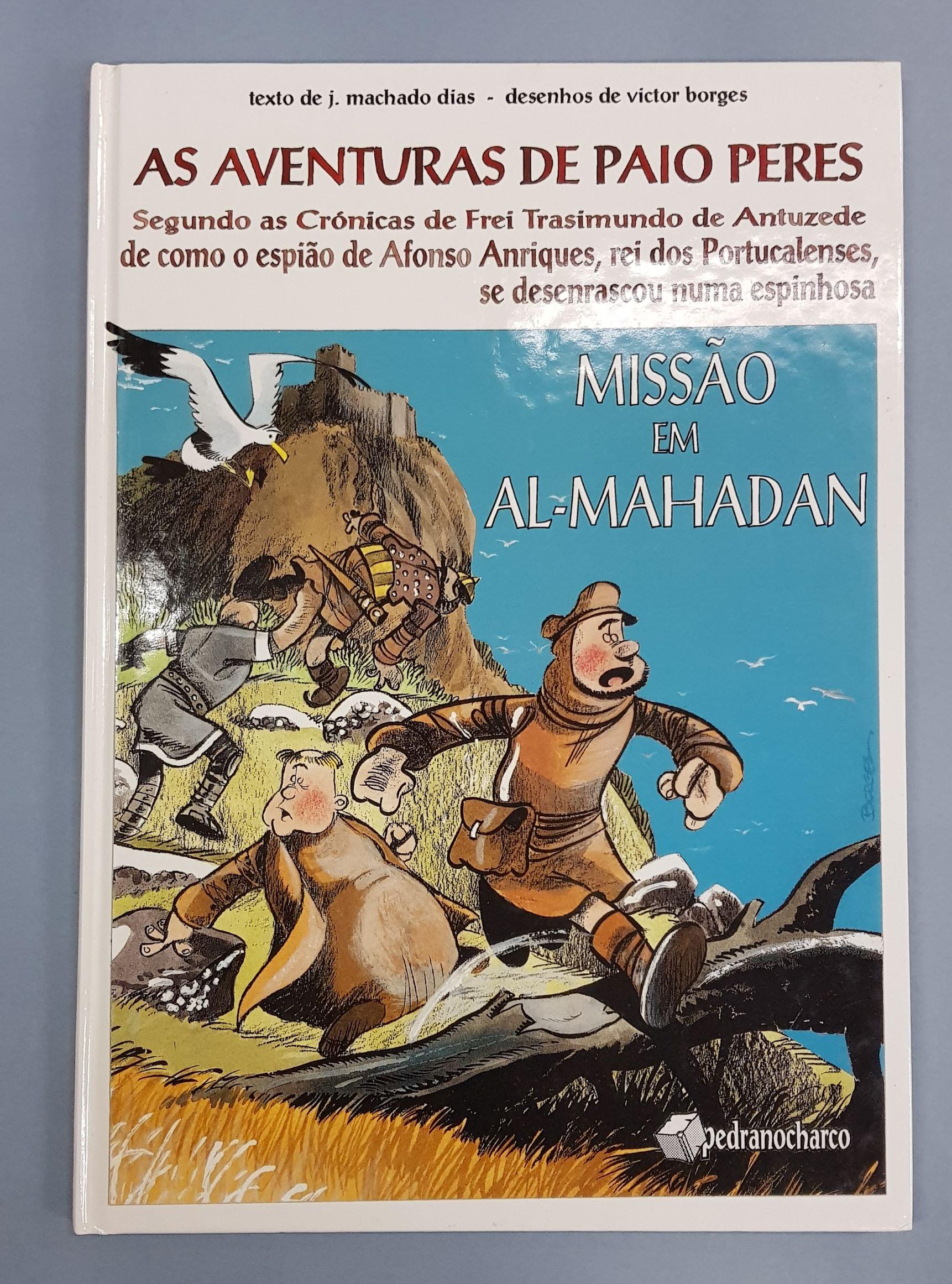 As aventuras de Paio Peres – Missão em Al-Mahadan