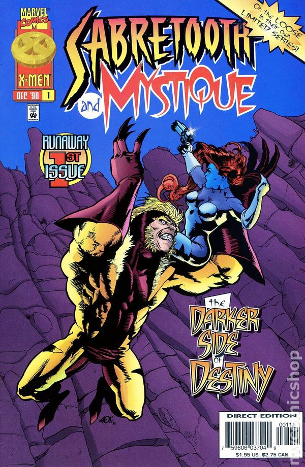 Mystique and Sabretooth (MS 4)