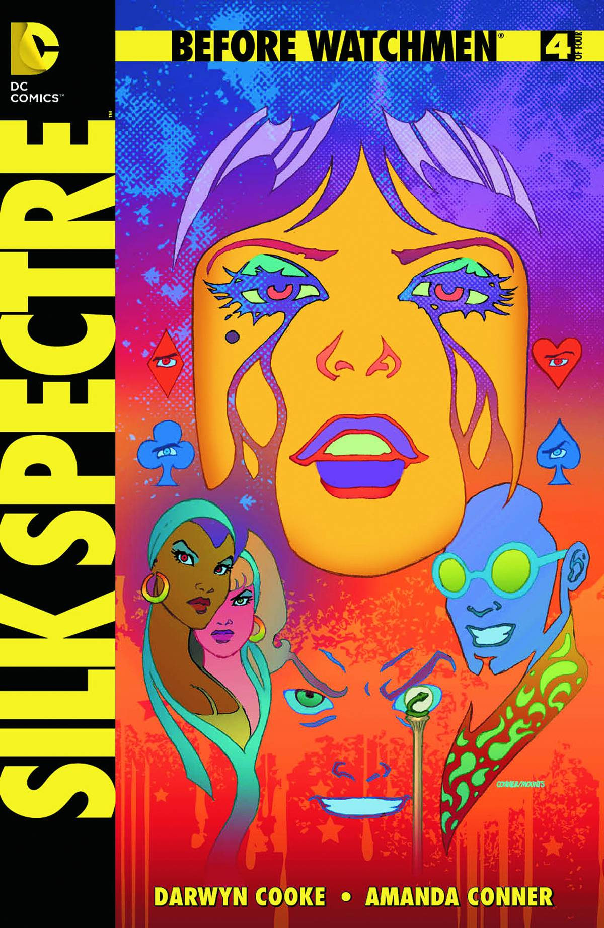 BEFORE WATCHMEN SILK SPECTRE (MS 4)