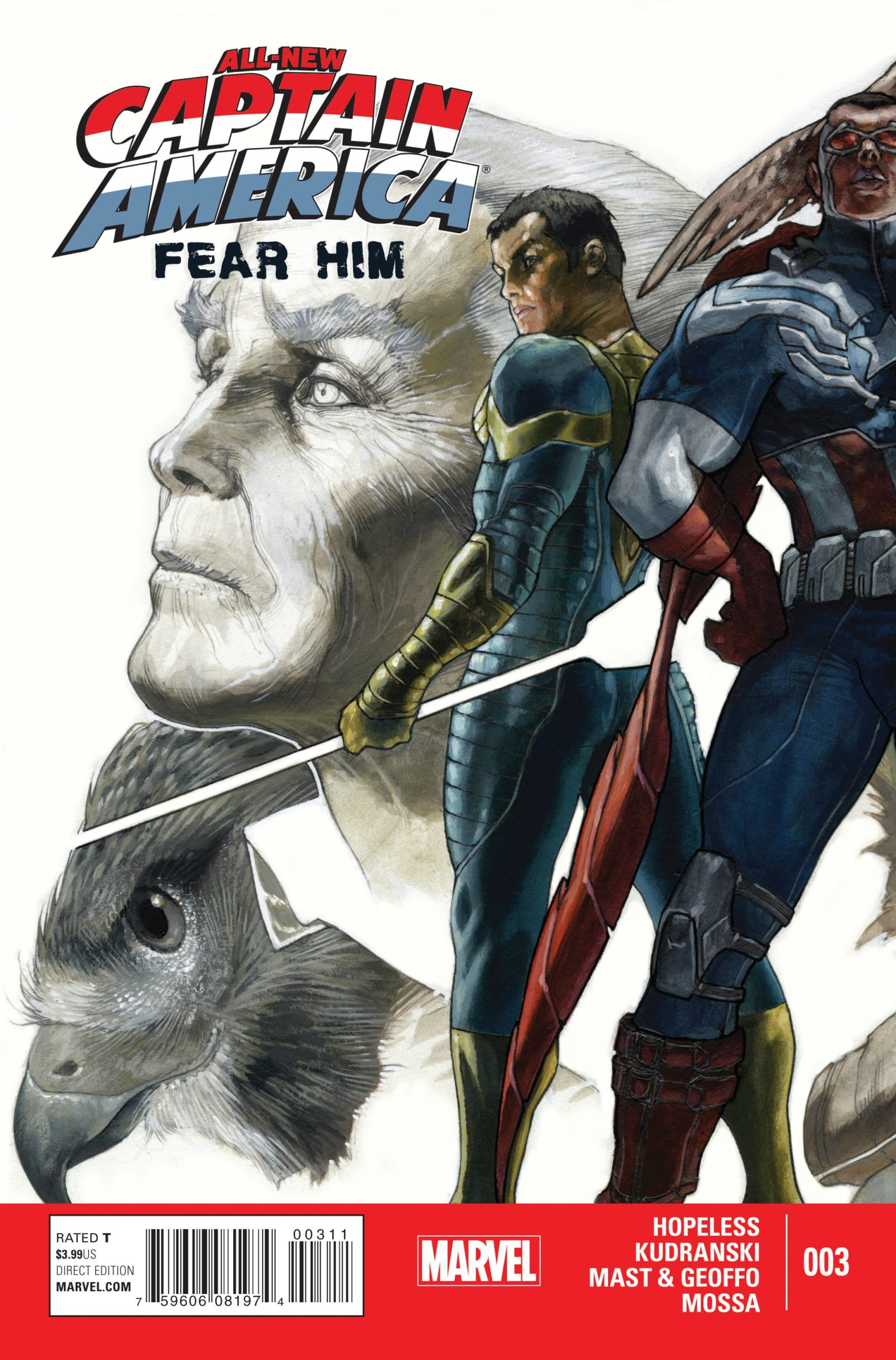 ALL NEW CAPTAIN AMERICA FEAR HIM (MS 4)