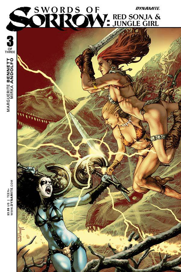 SWORDS OF SORROW SONJA JUNGLE (MS 3)