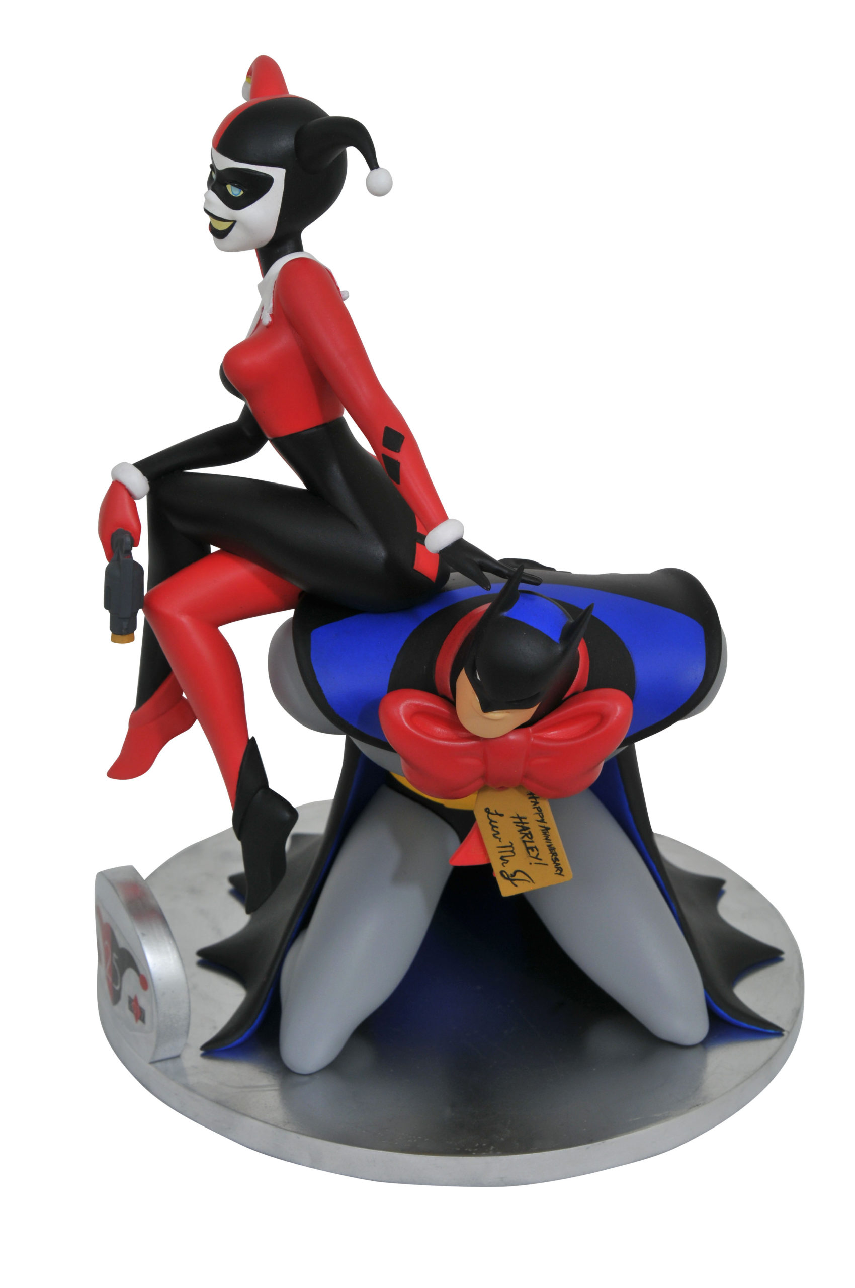 DC GALLERY BATMAN TAS 25TH ANNIV HARLEY QUINN DLX PVC FIGURE