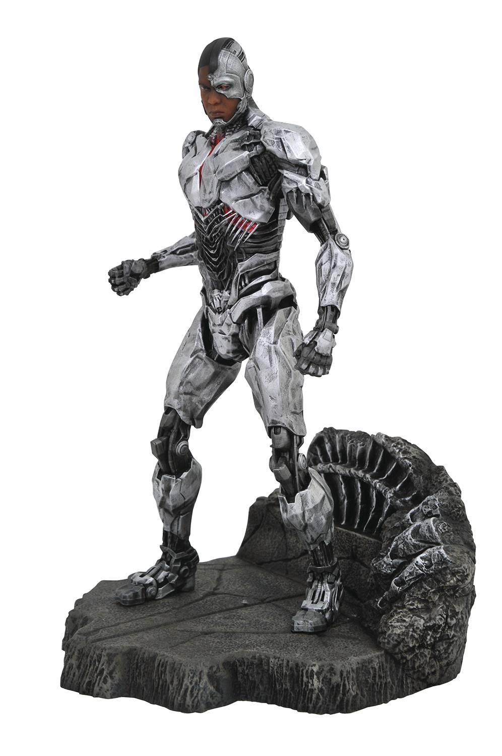 JLA MOVIE GALLERY CYBORG PVC FIGURE