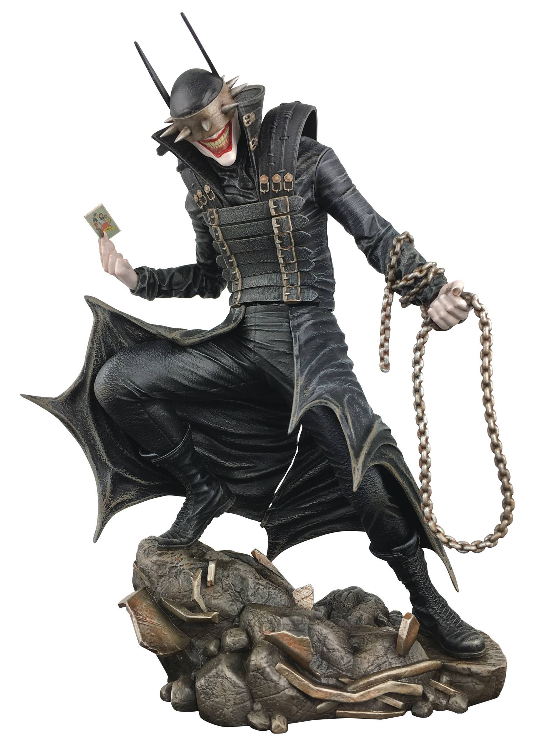 DC GALLERY BATMAN COMIC WHO LAUGHS PVC FIGURE