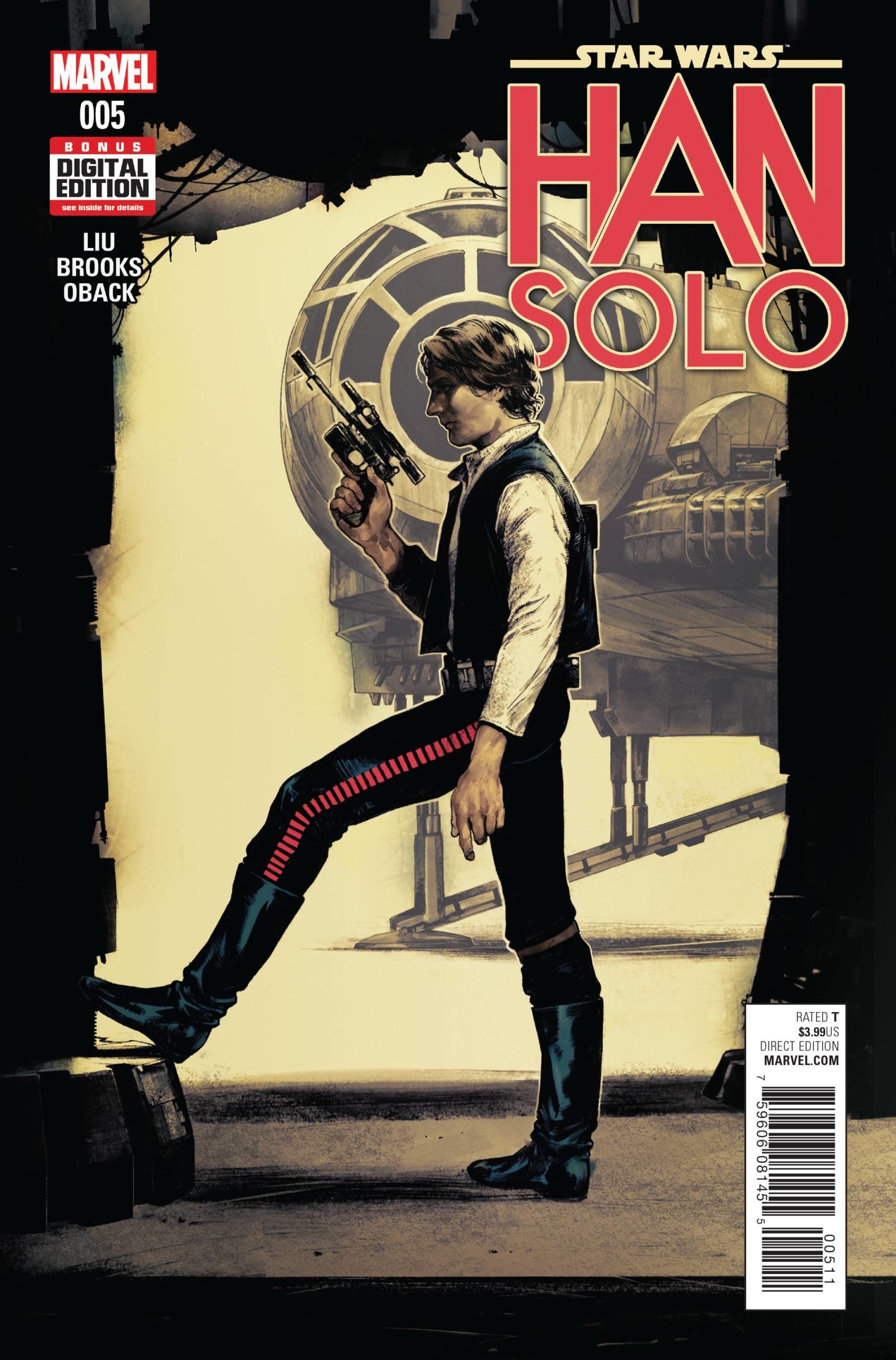 STAR WARS HAN SOLO (MS 5)