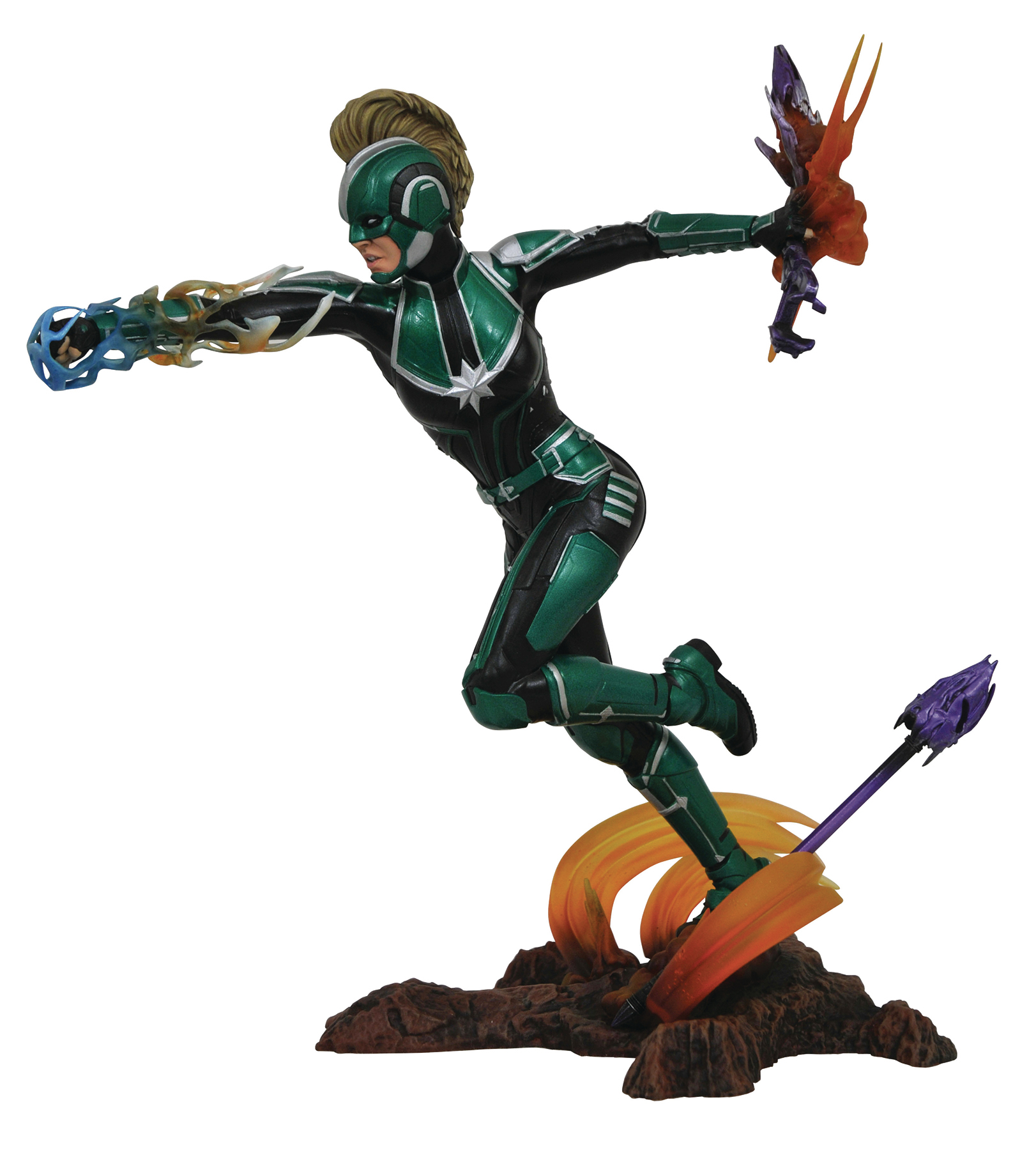 MARVEL GALLERY CAPTAIN MARVEL  MOVIE STARFORCE PVC FIGURE