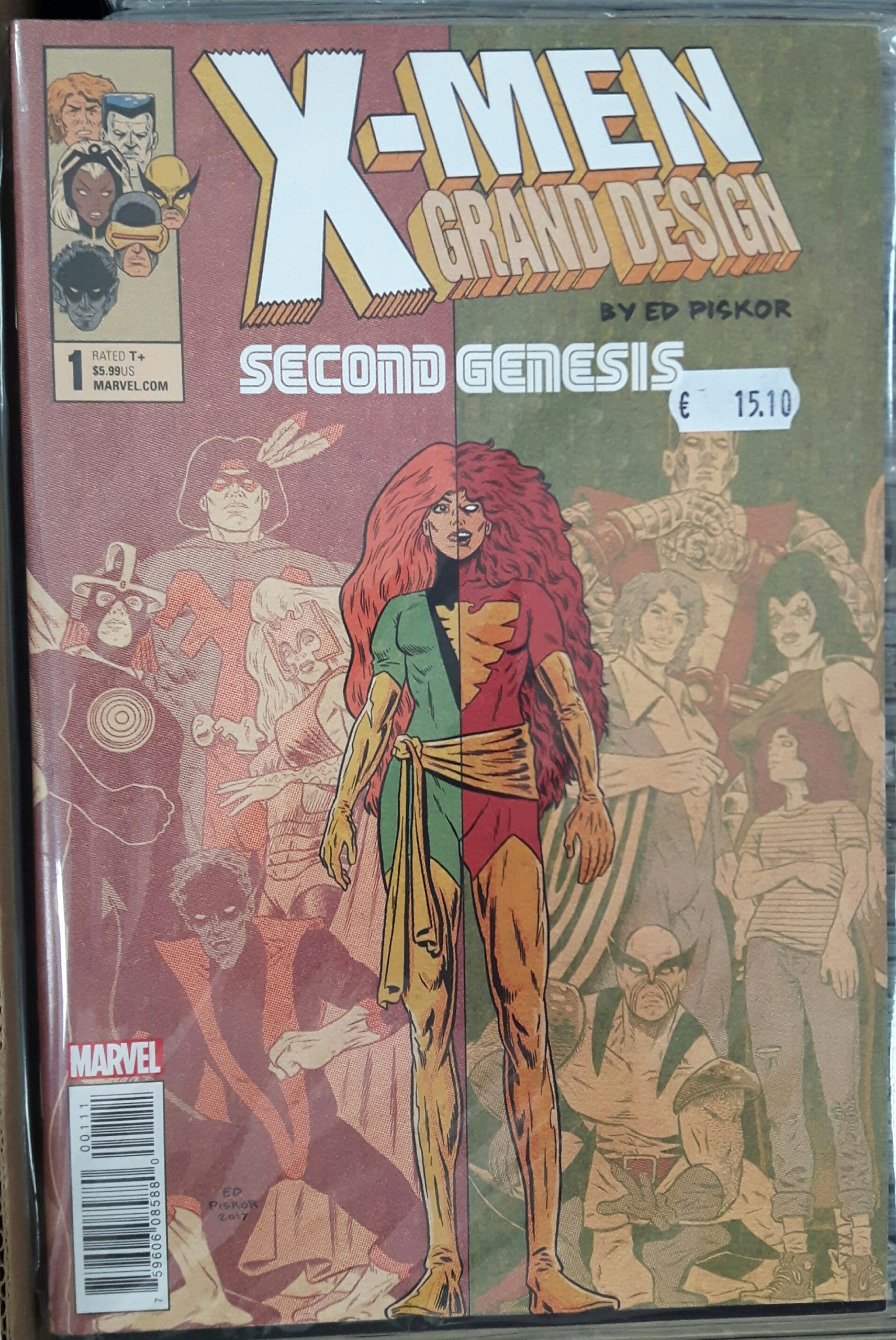 X-MEN GRAND DESIGN: SECOND GENESIS (MS 2)