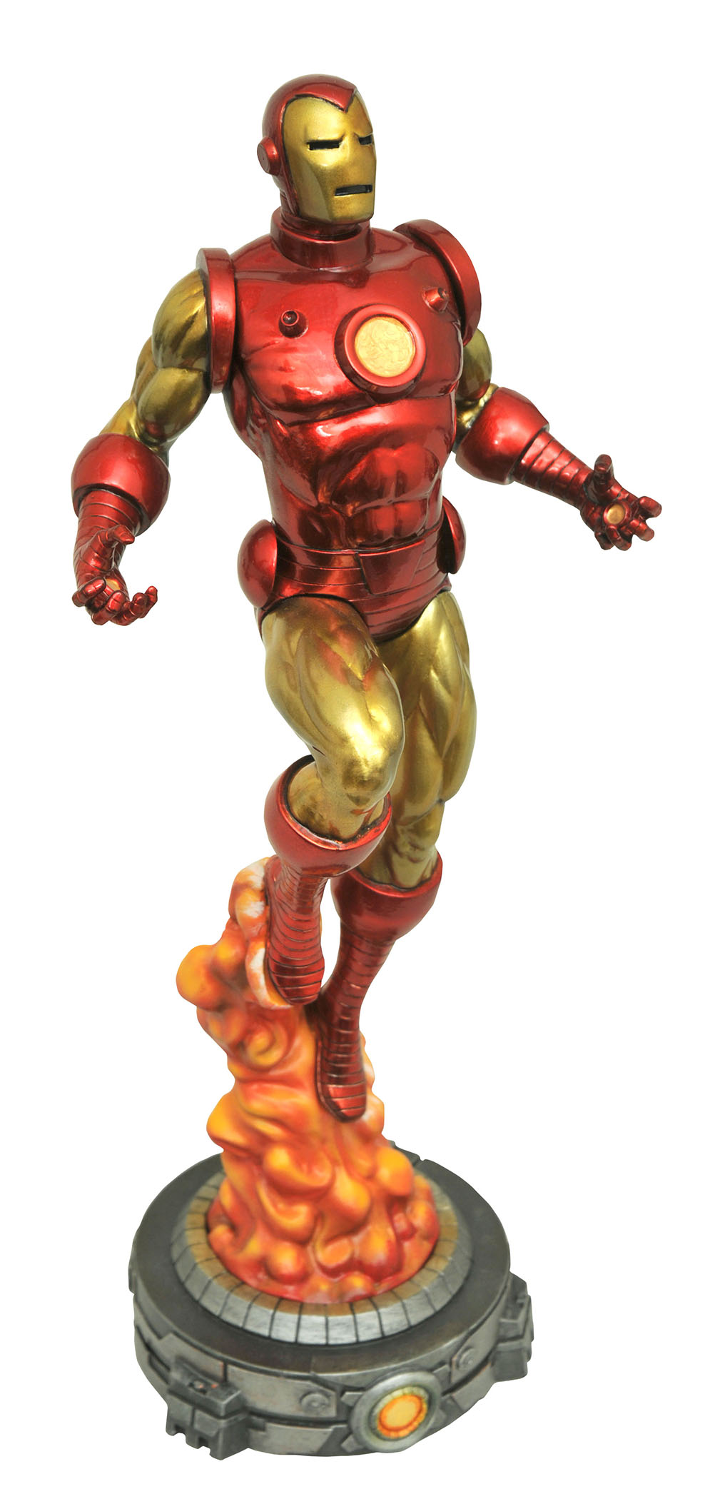 MARVEL GALLERY CLASSIC IRON MAN PVC FIG