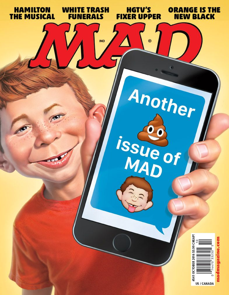 MAD Magazine #541 OCT 2016