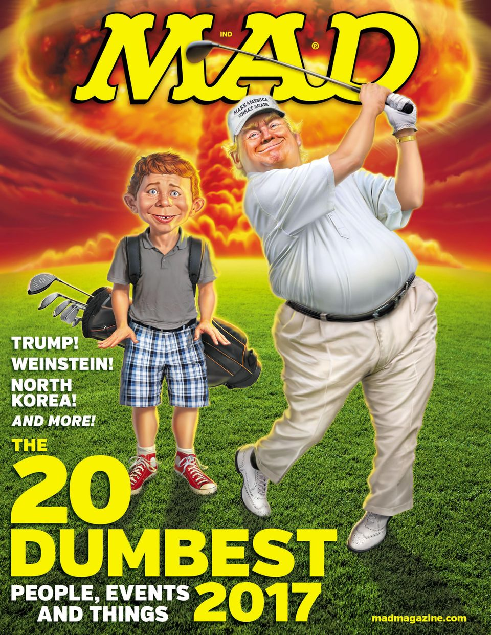 MAD Magazine #549 FEB 2018