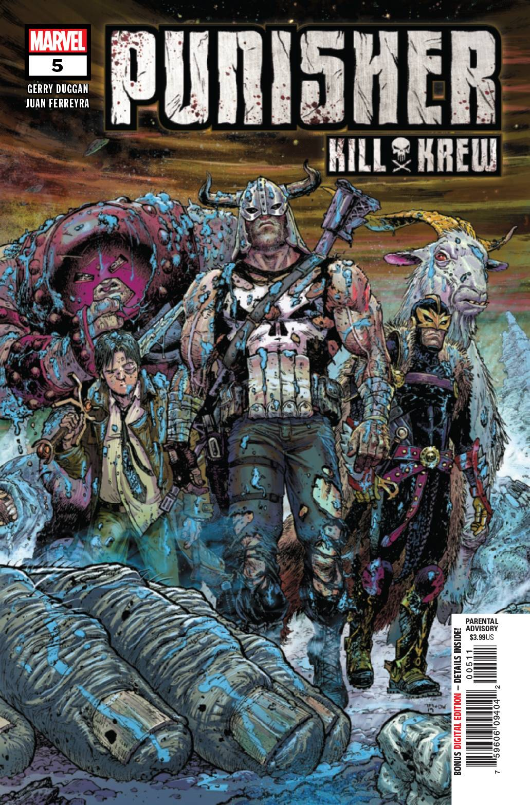PUNISHER KILL KREW (MS 5)