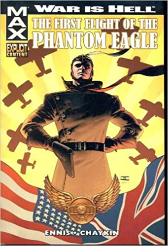 WAR IS HELL FIRST FLIGHT PHANTOM EAGLE MAX PREM HC