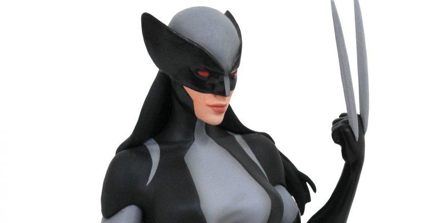 MARVEL GALLERY X-FORCE X-23 PVC STATUE