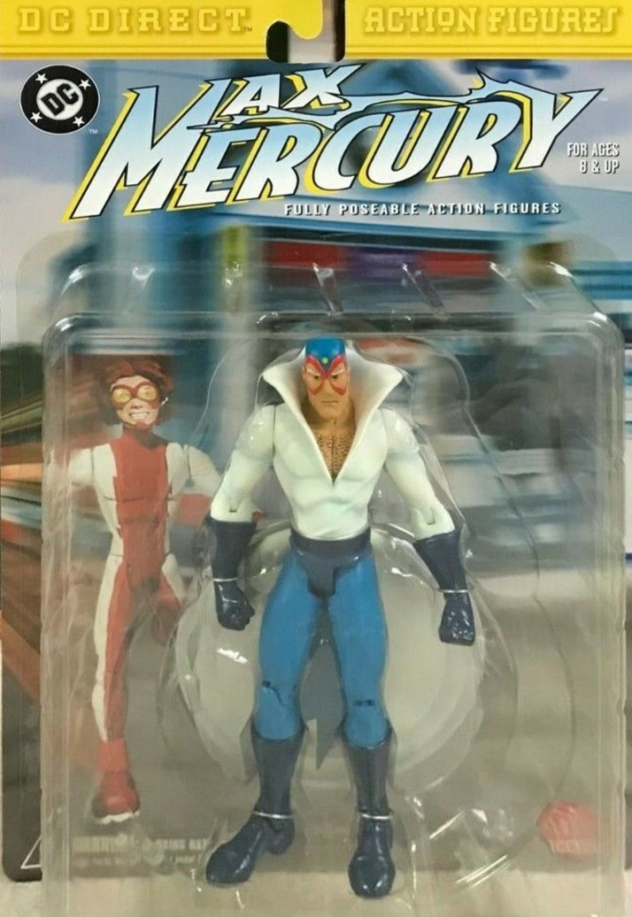DC DIRECT MAX MERCURY ACTION FIGURE