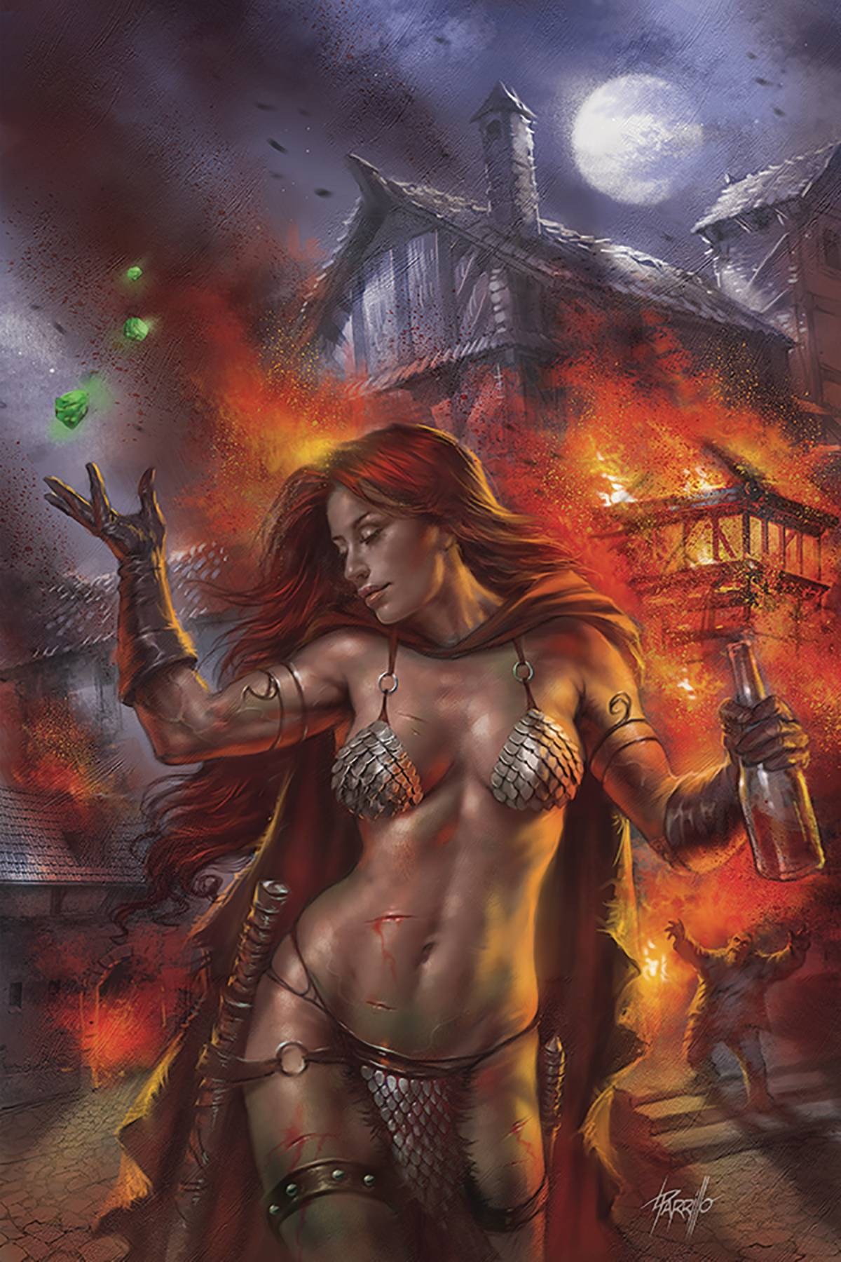 RED SONJA: BIRTH OF SHE DEVIL (MS 4)