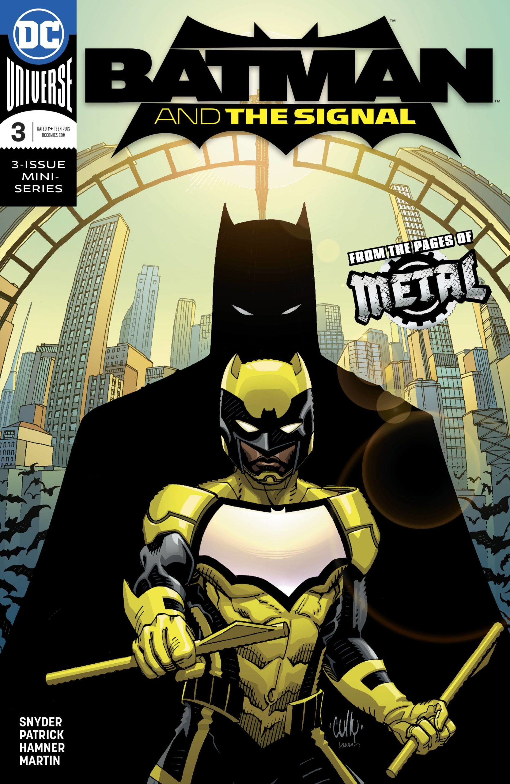 BATMAN AND THE SIGNAL  (MS 3)