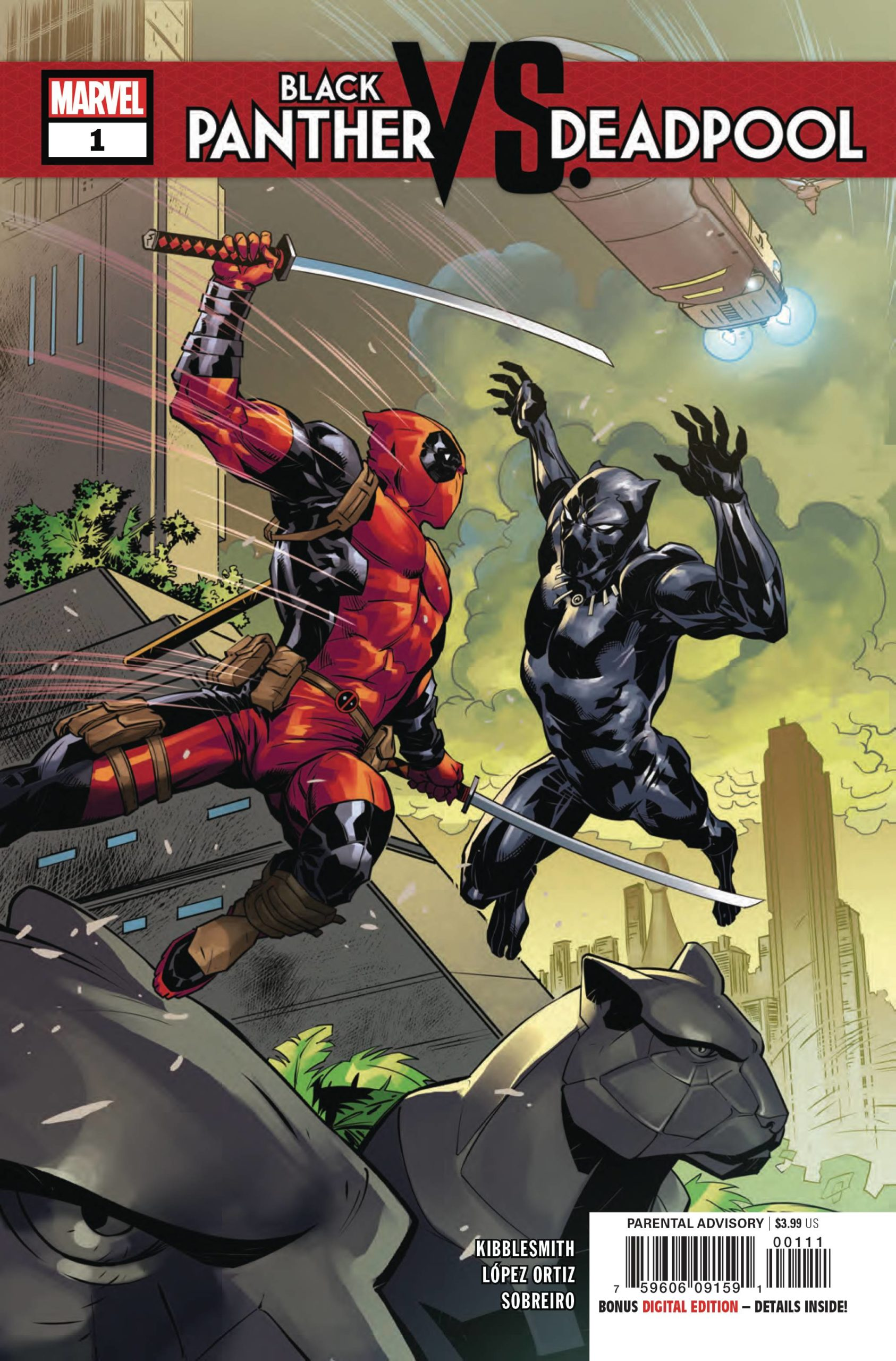 BLACK PANTHER VS DEADPOOL  (MS 5)