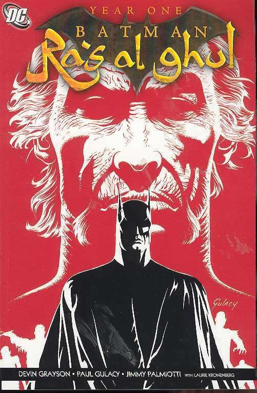 BATMAN RAS AL GHUL YEAR ONE (MS 2)