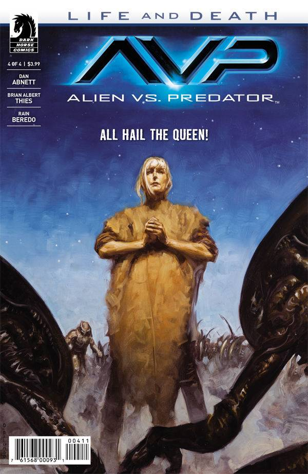 ALIENS VS PREDATOR LIFE AND DEATH (MS4)