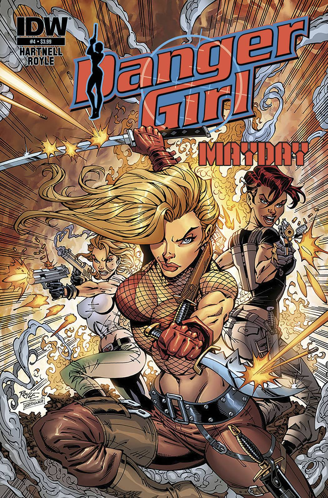 DANGER GIRL MAYDAY  (MS 4)