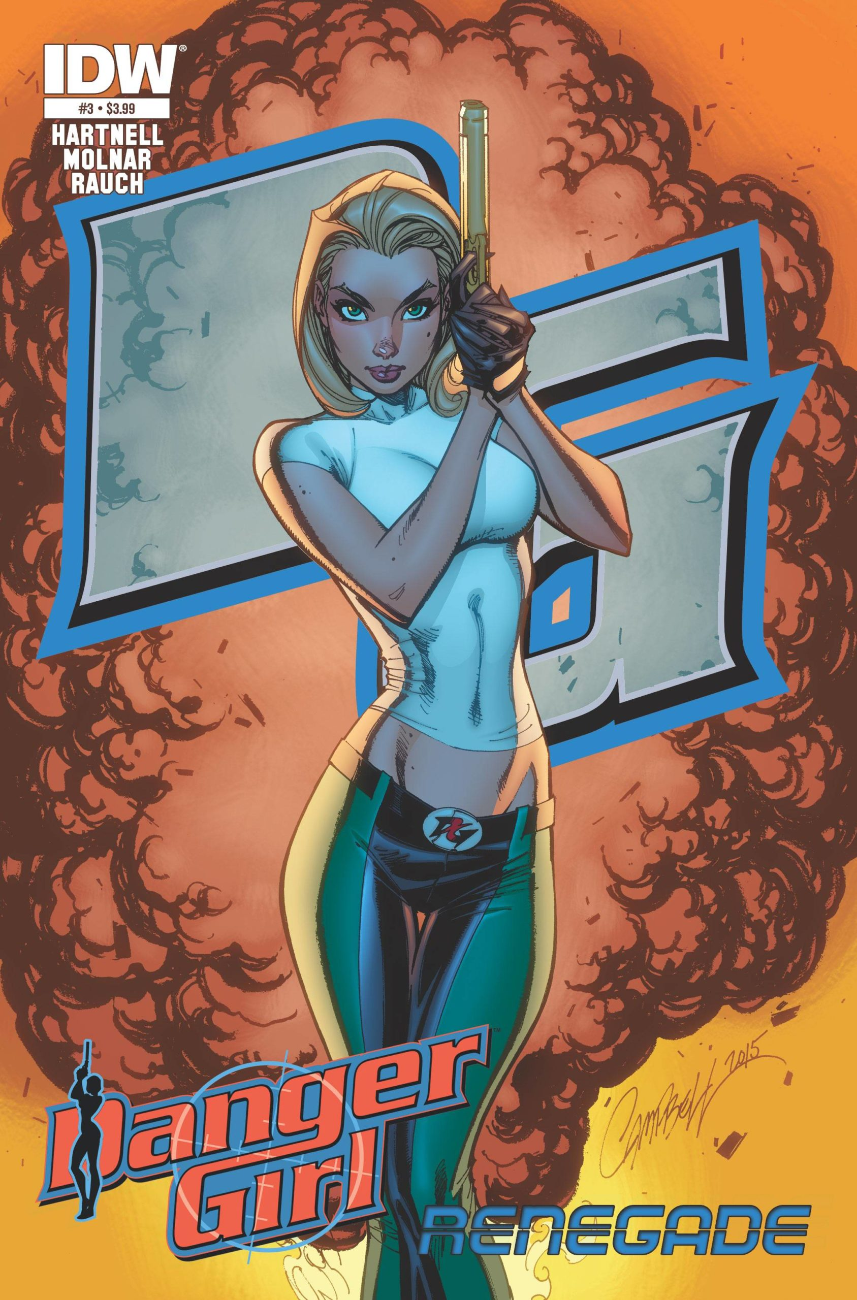 DANGER GIRL RENEGADE  (MS 4)