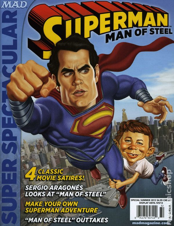 MAD MAGAZINE PRESENTS SUPERMAN