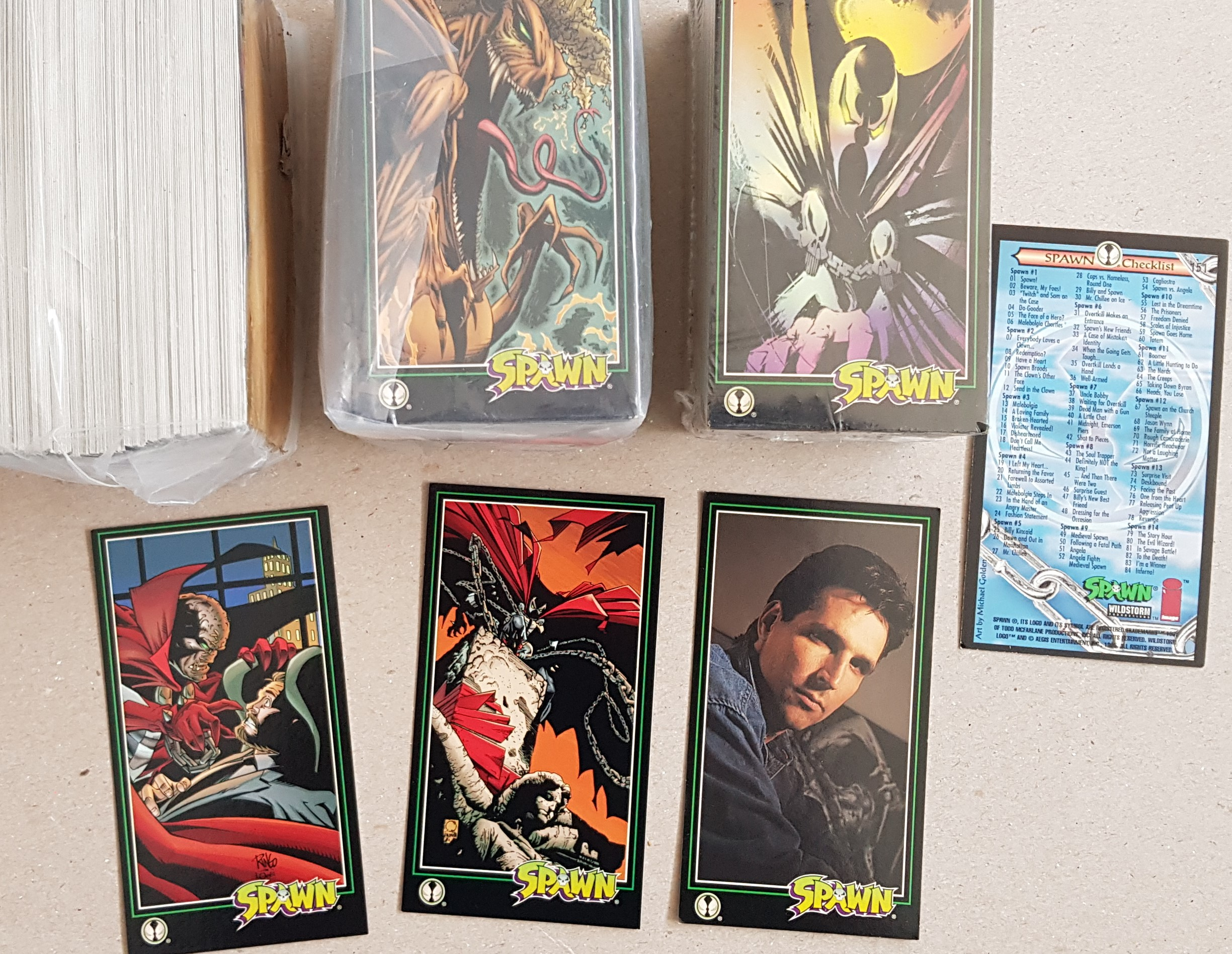 SPAWN Trading-cards Set