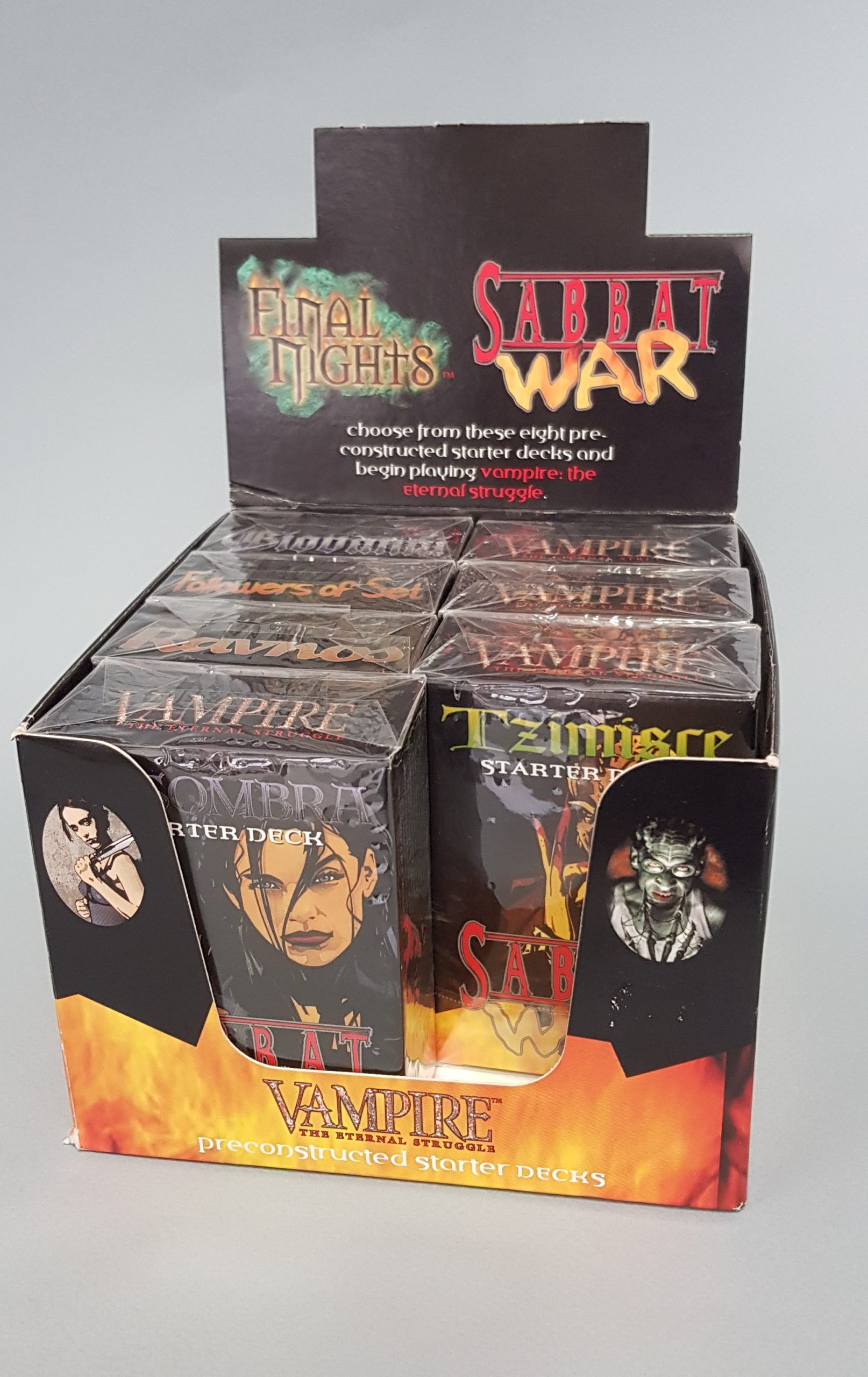 VAMPIRE The Eternal Struggle preconstructed starter decks – CARD GAME