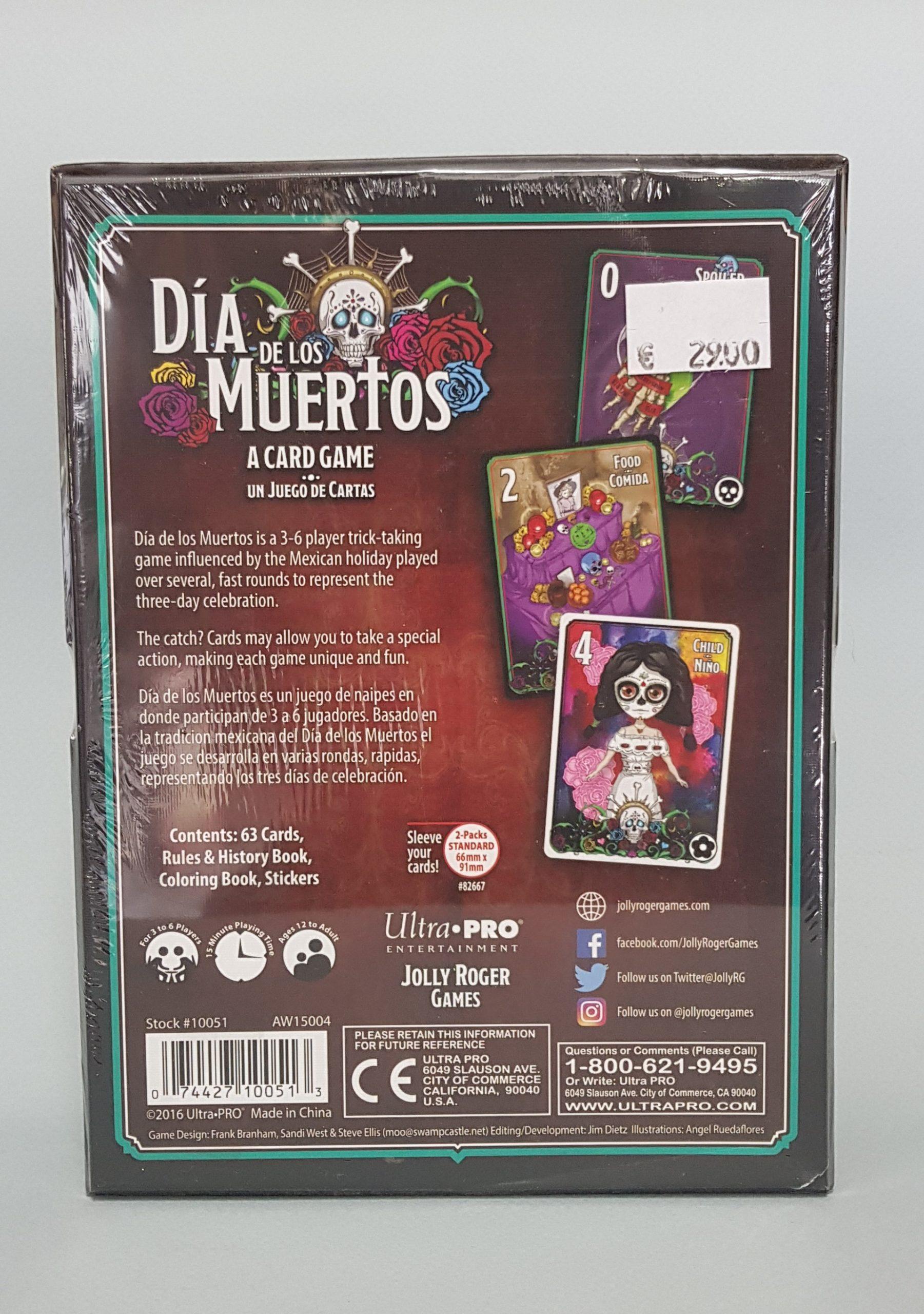 DIA DE LOS MUERTOS CARD GAME DELUXE BOX SET