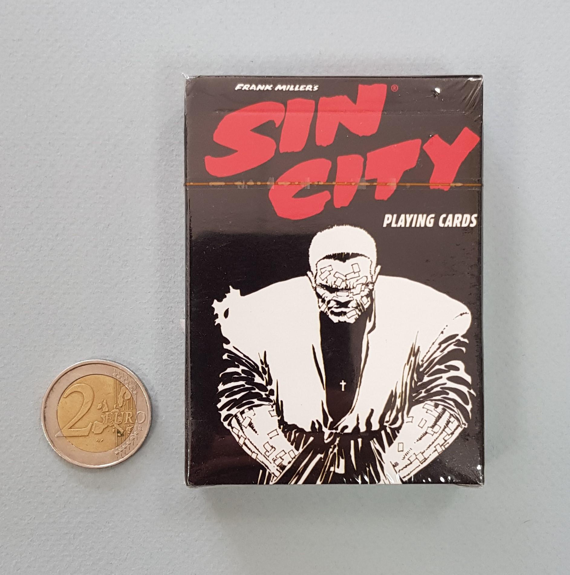 Baralho de cartas temático SIN CITY