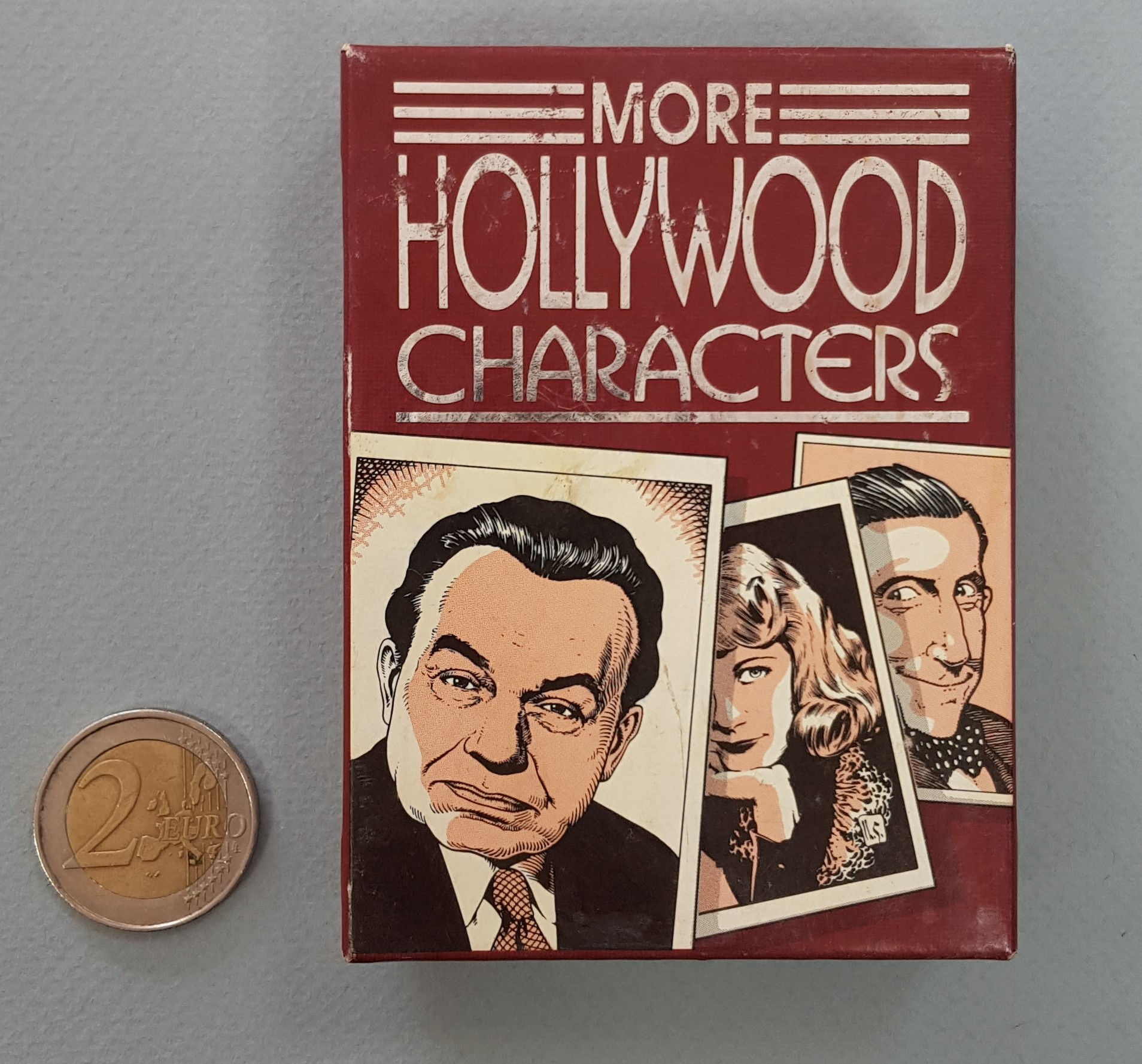 MORE HOLLYWOOD CHARACTERS Trading-cards Box
