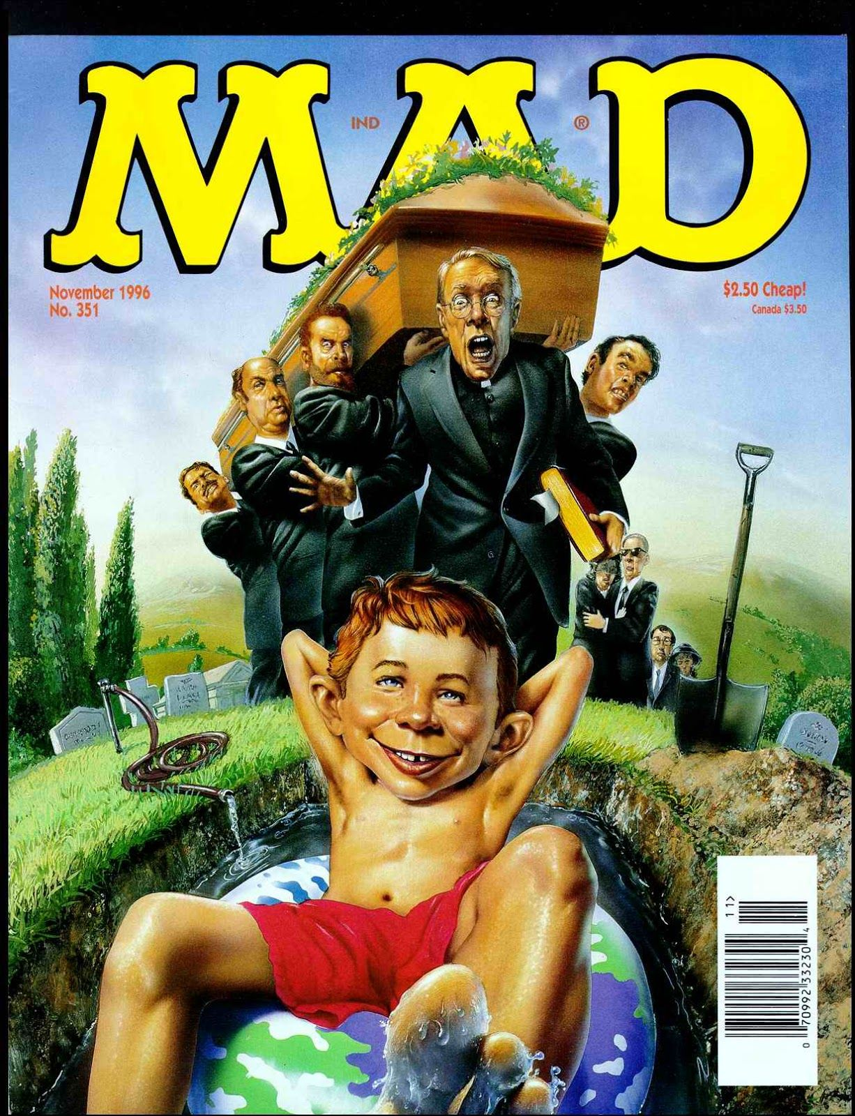 MAD Magazine #351  NOV 1996