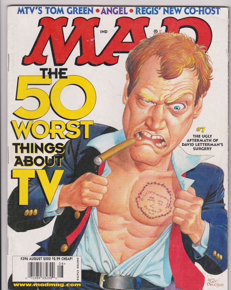 MAD Magazine #396 AUG 2000