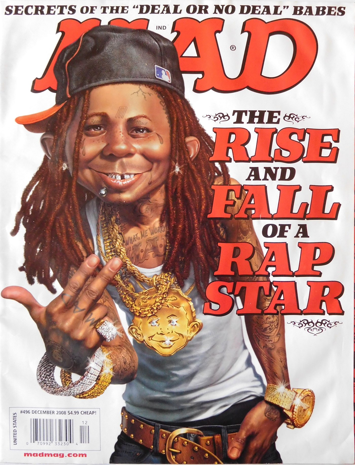 MAD Magazine #496 DEC 2008