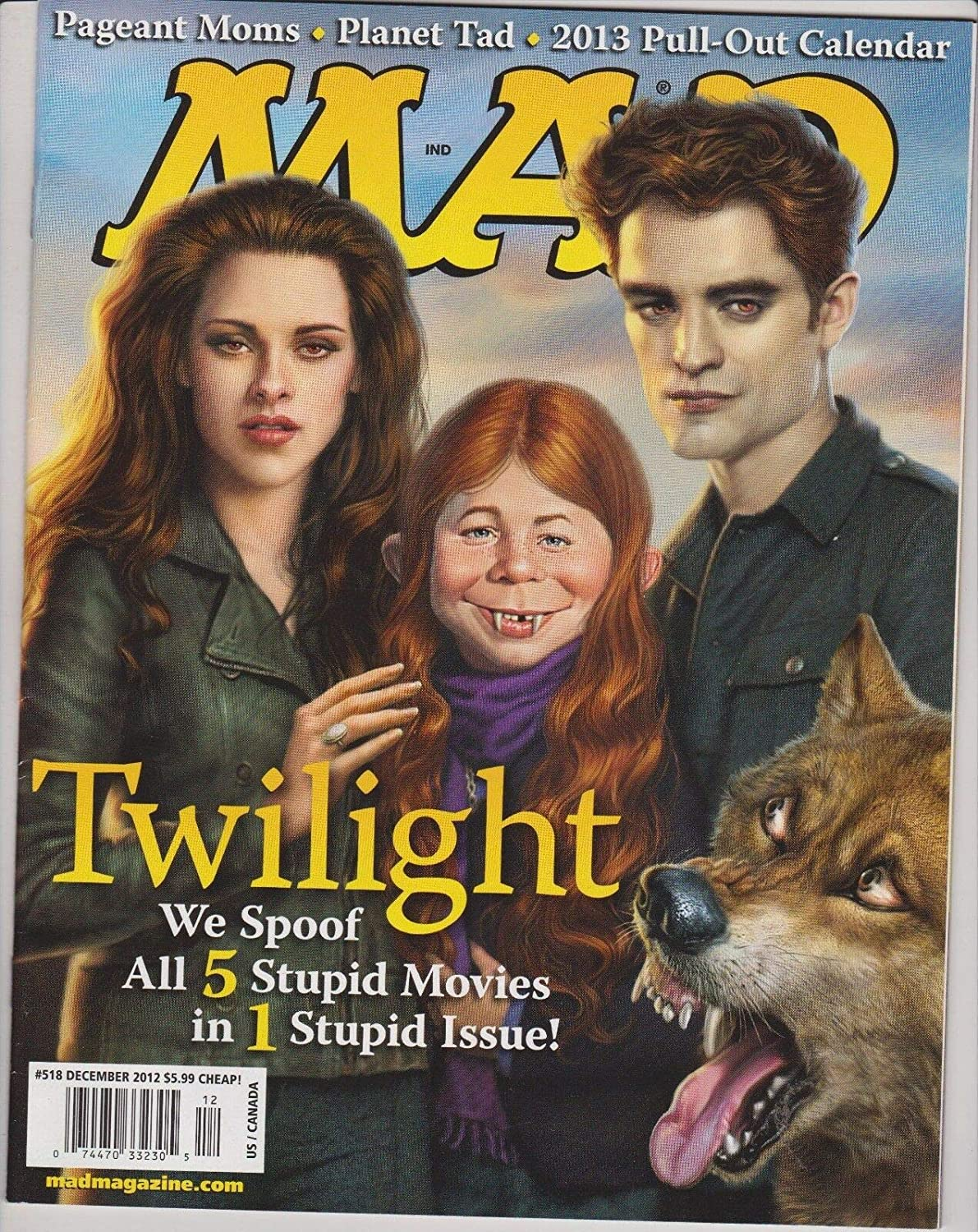 MAD Magazine #518 DEC 2012