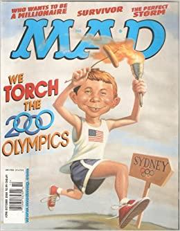 MAD Magazine #398 OCT 2000