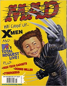 MAD Magazine #399 NOV 2000 (X Men)