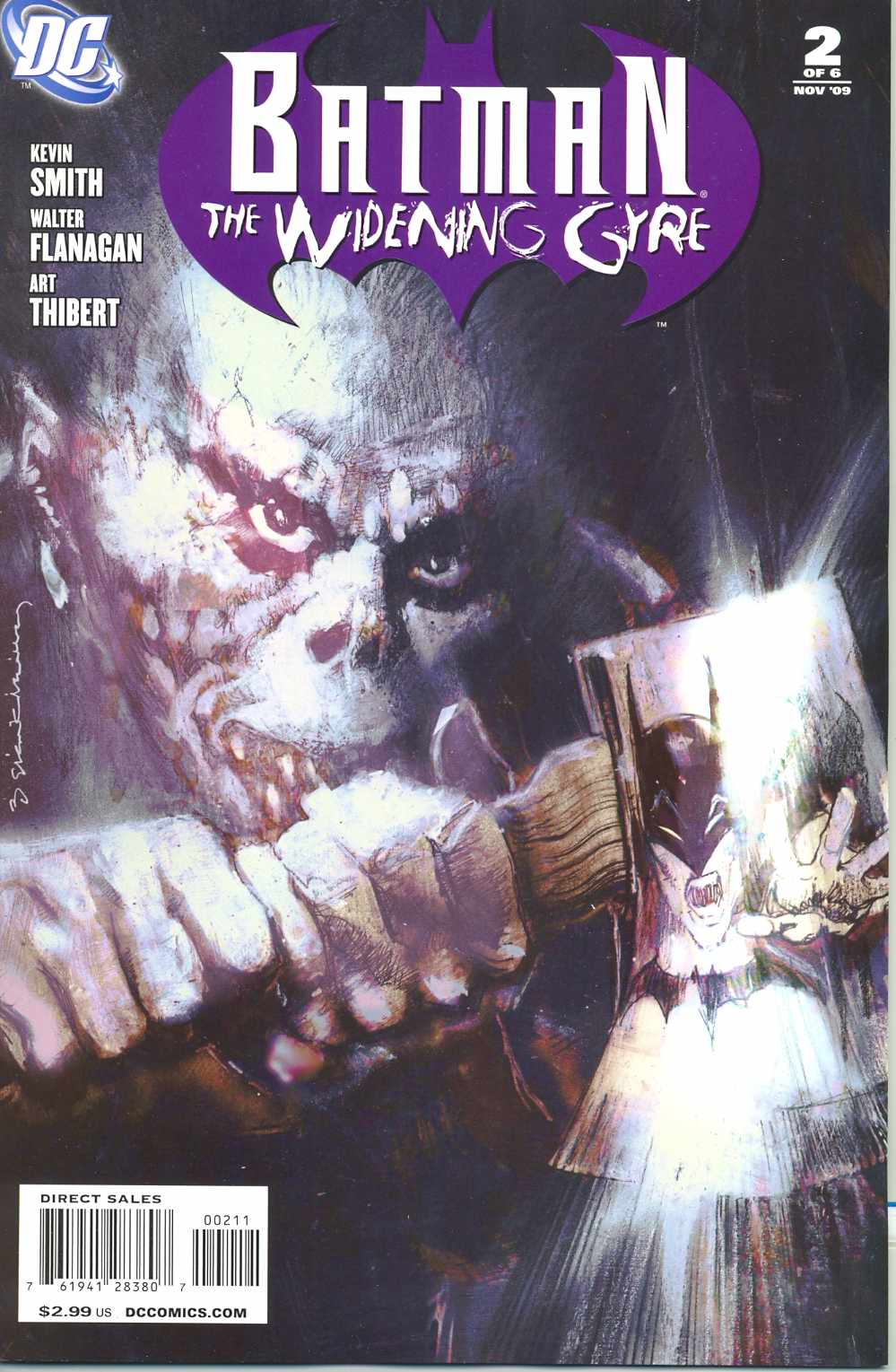 BATMAN WIDENING GYRE (MS 6)